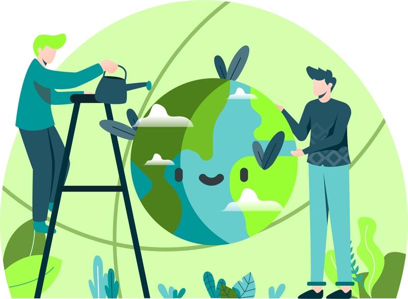 Blog Beitrag zu Grüne Webseiten Titelbild
