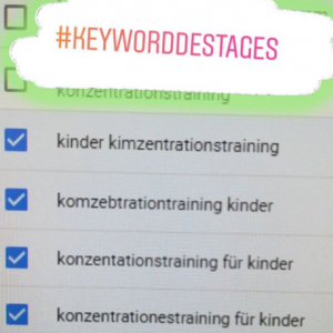 keywordrecherche humor konzentration blog